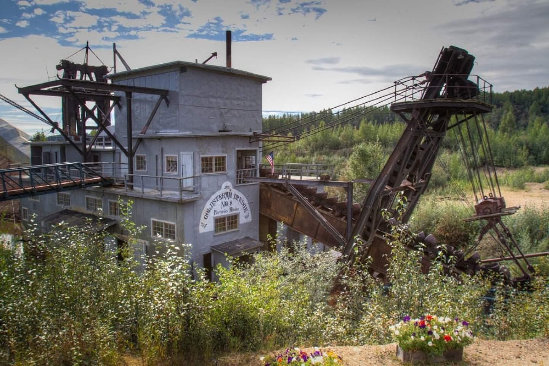 Historic Gold Dredge in Fairbanks