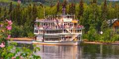 Fairbanks day tours attractions Fairbanks michael rogers chena Riverboat Michael Rogers