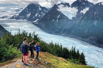 Girdwood guided hiking chugach adventures