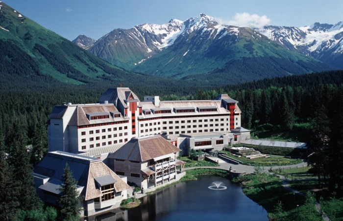 Girdwood hotels lodges Alaska Channel