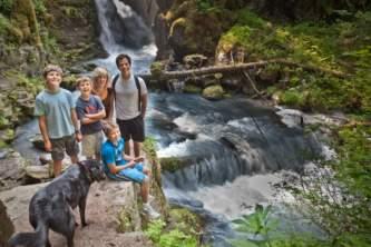 Girdwood parks trails Alaska Channel