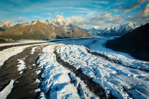 Glacier view alaska matanuska glacier Alaska Channel