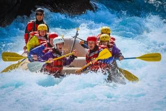 Glacier view rafting tours nova