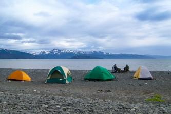 Homer rv parks campgrounds Alaska Channel