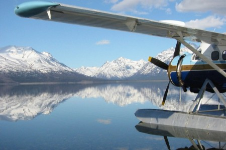 Katmai national park Dehavilland Otter 2 copyright David Mc Rae Brooks Lodge Katmailand