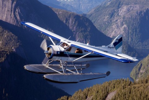 See Ketchikan from above on a flightseeing tour