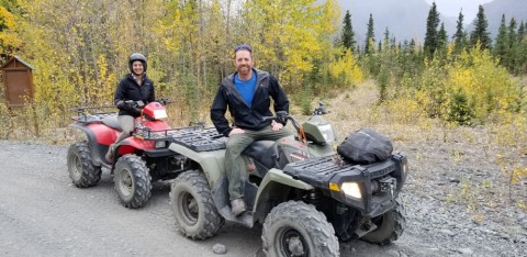 Adventure out into the Alaskan wilderness on an ATV tour
