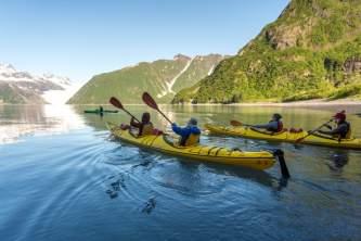 Seward sea kayaking sunny cove