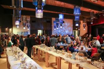Sitka fairs festivals The Banquet at Whale Fest Tim Shobe