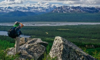 Talkeetna guided hiking