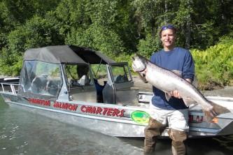 Talkeetna fishing charters phantom tririver charters