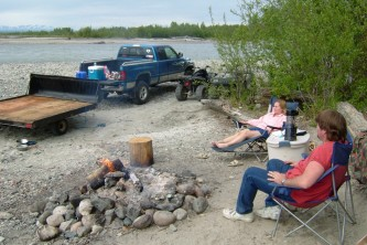 Talkeetna rv parks campgrounds Alaska Channel