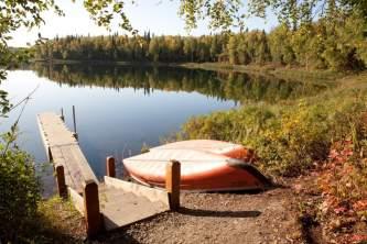 Talkeetna parks trails Alaska Channel