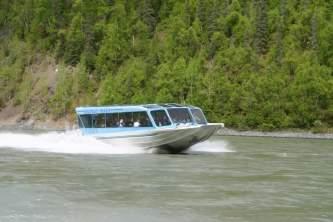 Talkeetna riverboat jetboat mahay