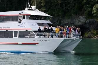 Valdez day cruises Alaska Channel