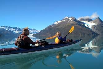 Whittier sea kayaking tours