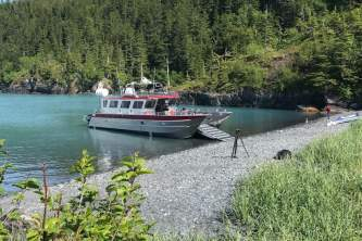 Whittier water taxis lazy otter charters