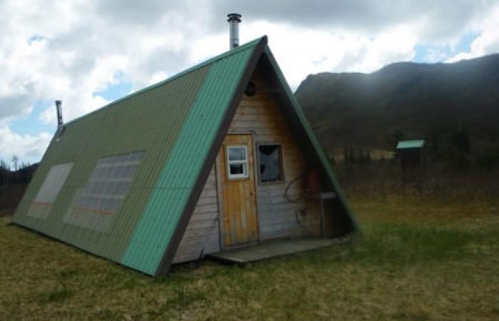 Yakutat public use cabin Tanis Mesa