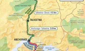 Alaska Railroad Alaska Railroad Map o166cj