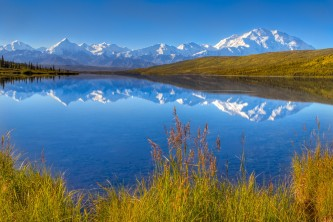 Wonder Lake in Denali National Park nh0fuy