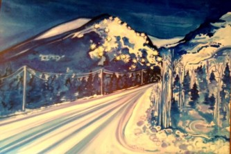 Girdwood meet the locals Laura Dewey local girdwood artist o43kko