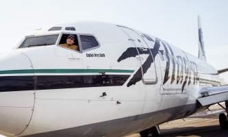 Flights to Alaska 737 4 o16458