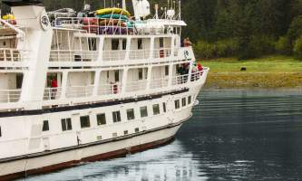 Alaska cruise reviews Wildlife Viewing On Small Cruise o1647w