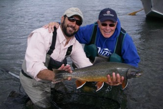 Alaska species fish krsl dolly varden
