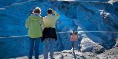 Blue Glacial Ice
