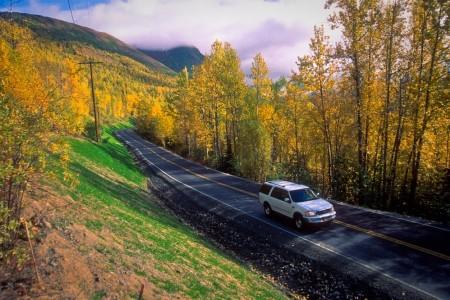 Eklutna Lake Scenic Drive