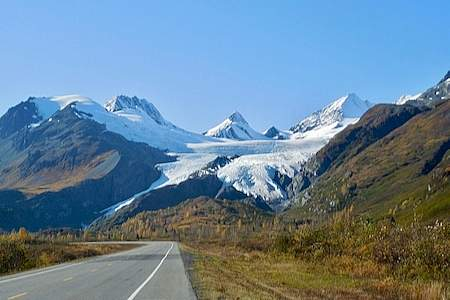 Valdez to Worthington Glacier