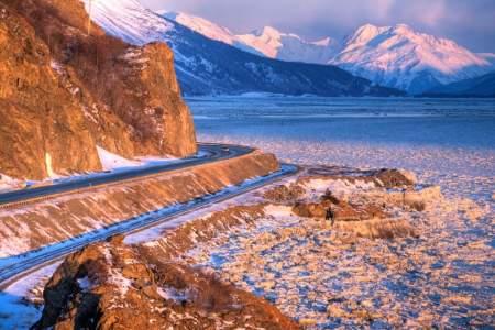 Anchorage to Seward (Seward Highway)