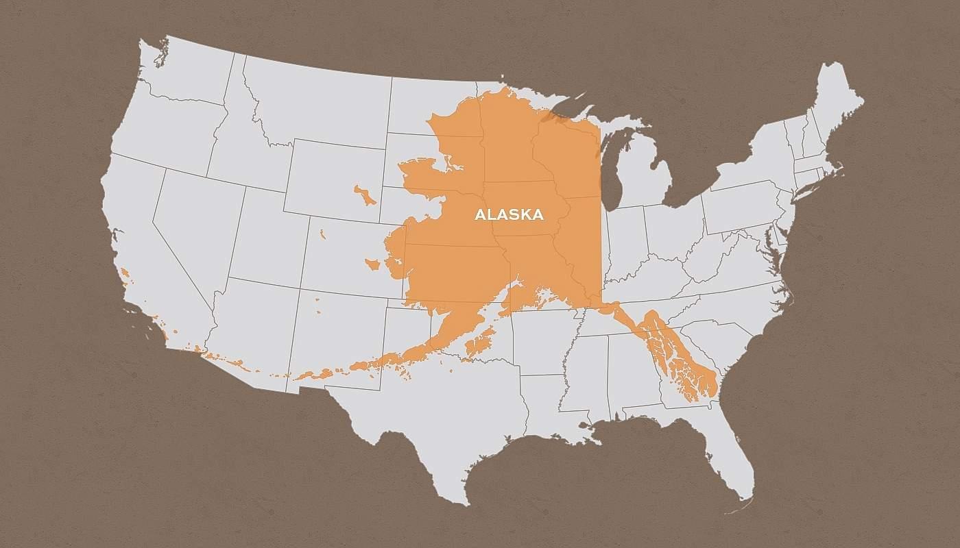 How Big is Alaska?
