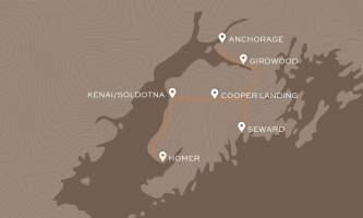 Kenai Peninsula Map 2x