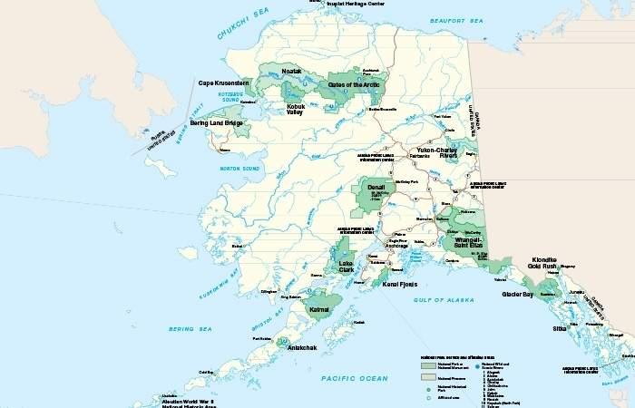 Alaska Maps Browse Maps Of Alaska To Plan Your Trip Alaska Org