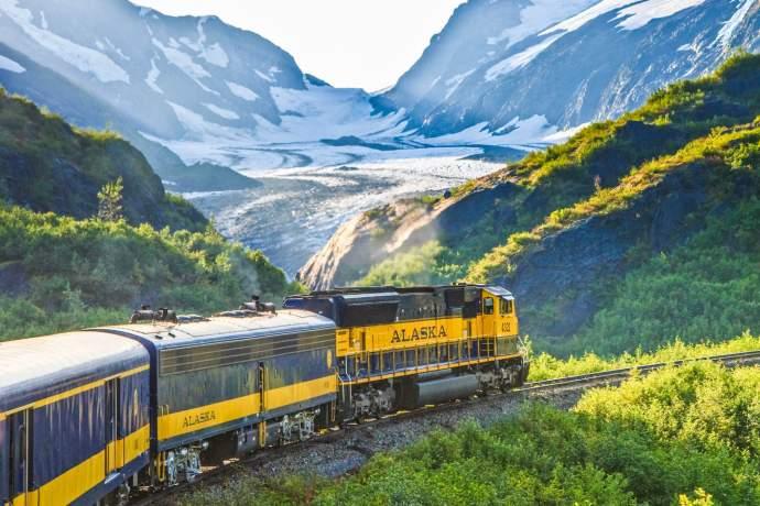 Alaska Railroad Coastal Classic Bartlett Glacier pbro2i