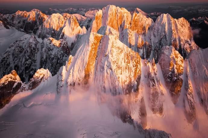 Alaska natural phenomena alpenglow ph4ghc