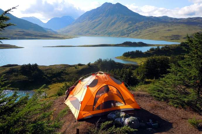 Best three day camping trips from anchorage Lost Lake diane rose plbyql