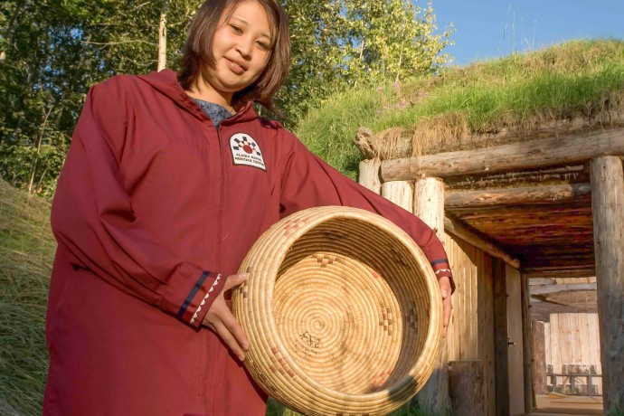Alaska Native Heritage Center new yupik photo pbro3a