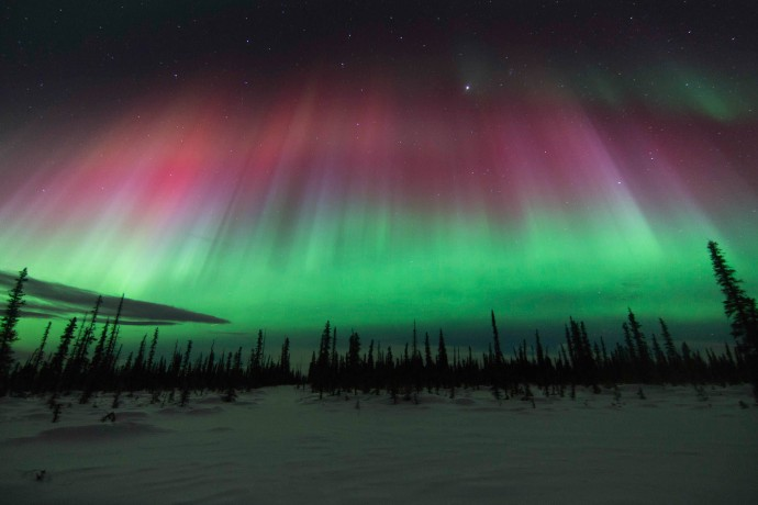 Alaska natural phenomena Northern Lights Fan Tolsana Wendy Johnson ph4gh0