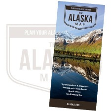 Printed State Map of Alaska