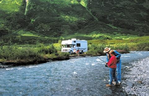 Alaska motorhome rentals