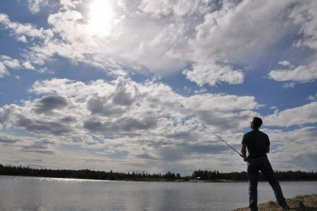 Chena Lake Park Fishing Dock