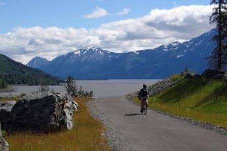 Girdwood to Indian Bike Path (Bird to Gird Trail)