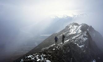 Gunsight_Mountain-88_On_the_summit_ridge_of_Gunsight_Mountain-pd3noo