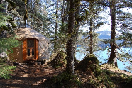 Tutka Bay Yurt #1