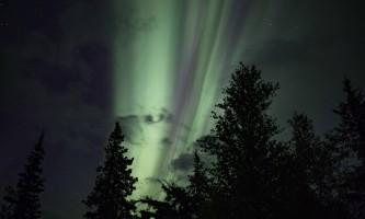 Manitoba cabin aurora from manitoba plqt27