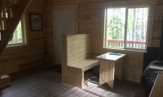 Rhein lake public use cabin interior of rhein lake puc2 p9ndpb