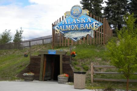 Alaska Salmon Bake