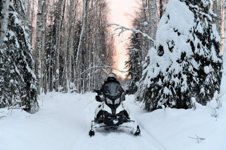 Rod's Alaskan Guide Service Snowmobile Tours